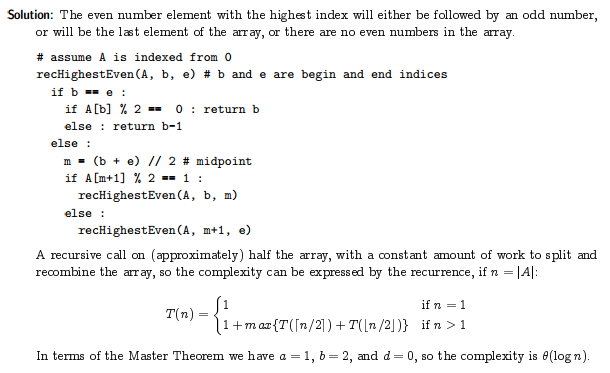 Post 5 Divide And Conquer Master Theorem 236 Blog