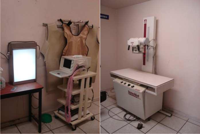 Radiolog a sala de rayos x for Cuarto de rayos x odontologia