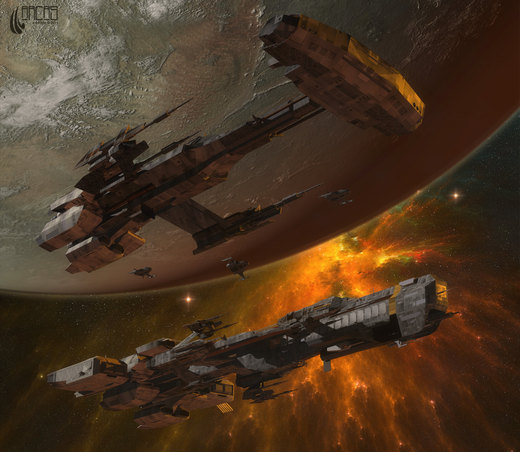 Space Opera por Arcas-Art