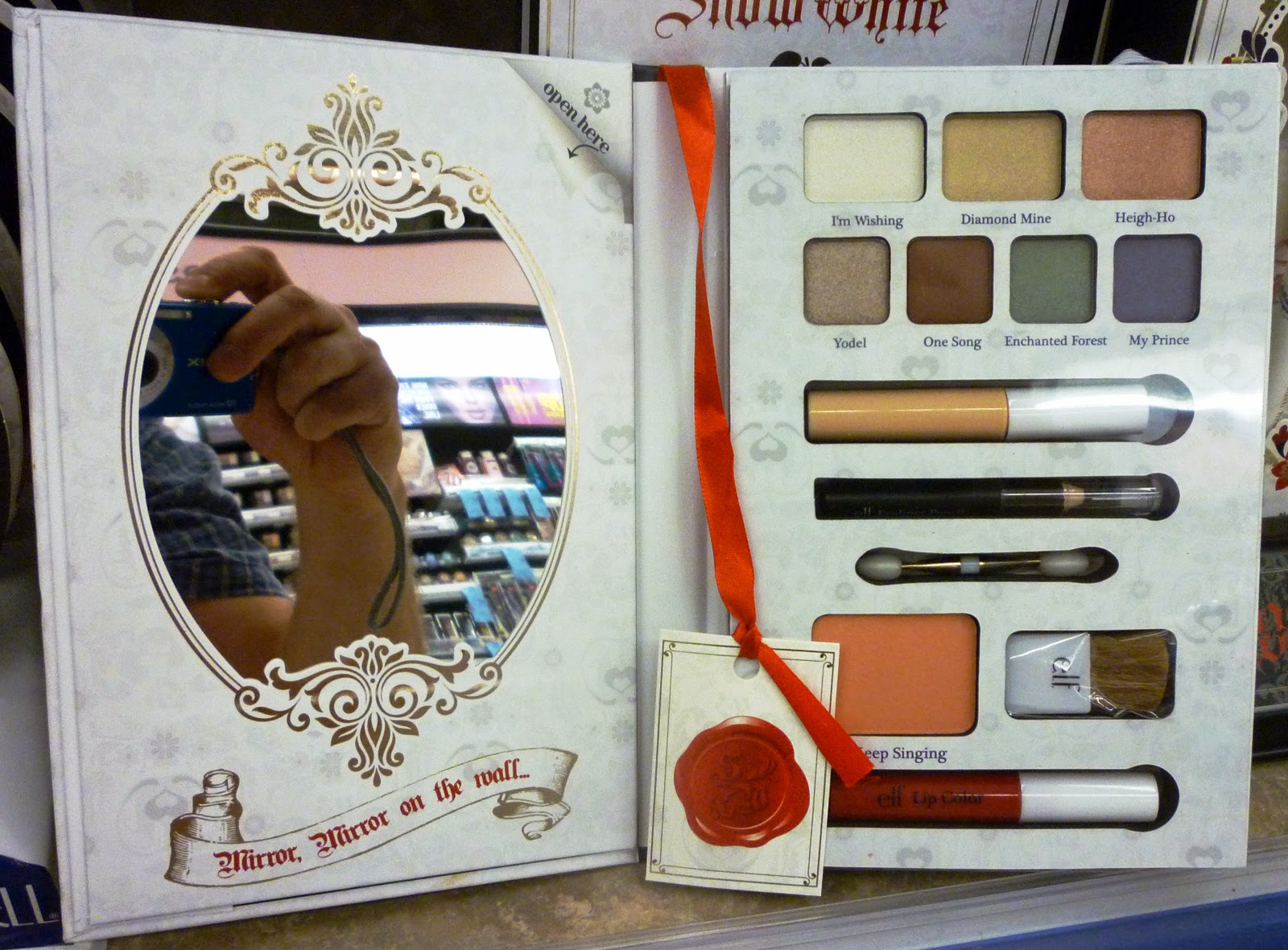 And The Makeup Palette