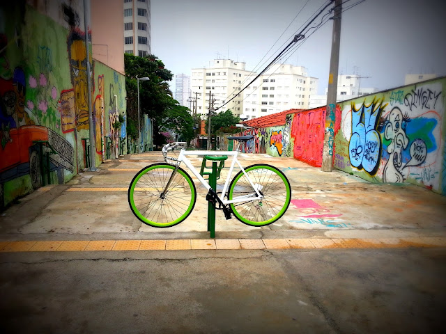 Fixed Gear State of Art - Vila Madalena