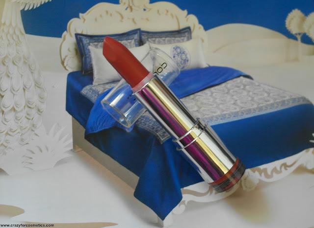Colorbar lipstick velvet matte range shade bare