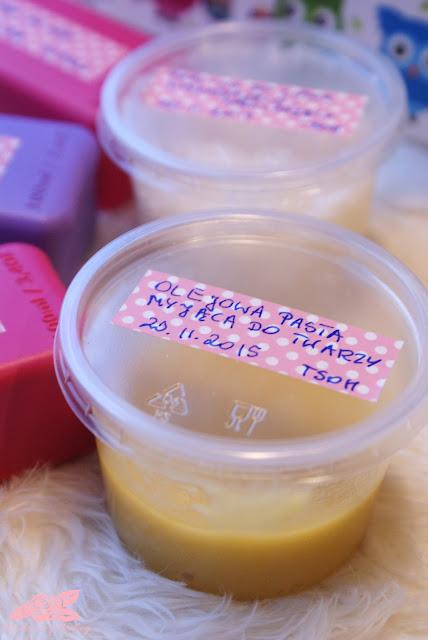 olejowa pasta myjąca