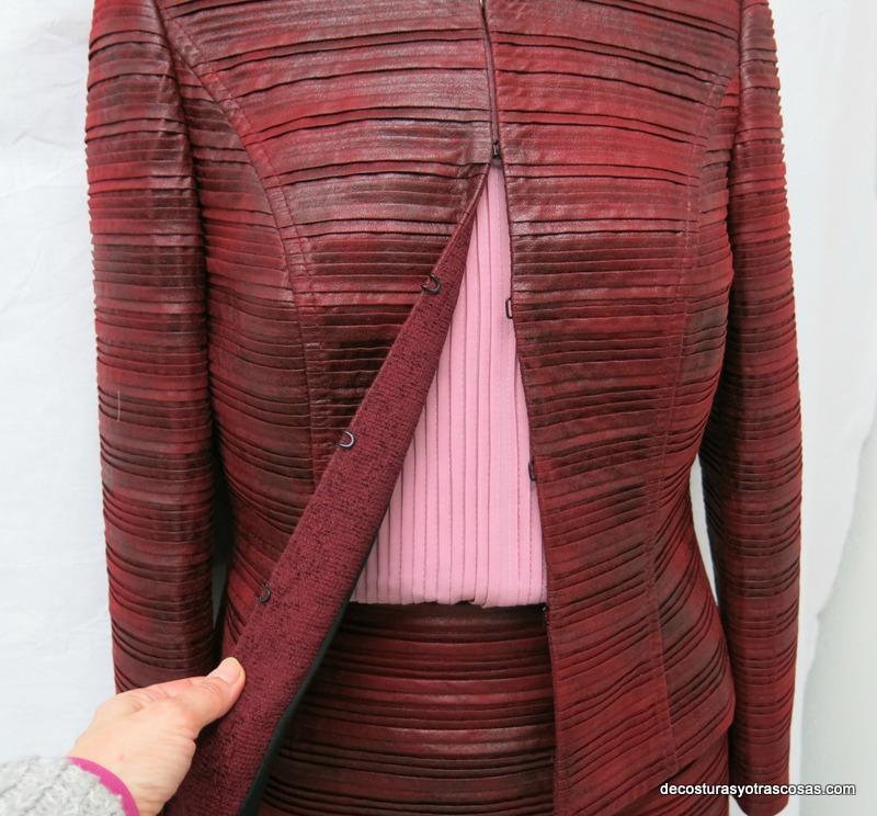 blusa de gasa plisada