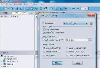 Cara Membuat File Iso, Duplikasi bootable CD DVD Images