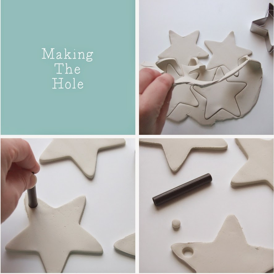 http://www.gatheringbeauty.com/2013/11/embossed-clay-star-decorations.html#.UqYpqNJdWRY