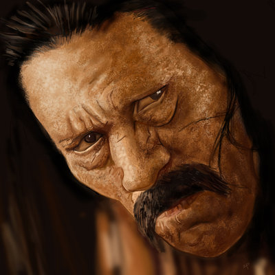 Danny Trejo Machete por HeroforPain