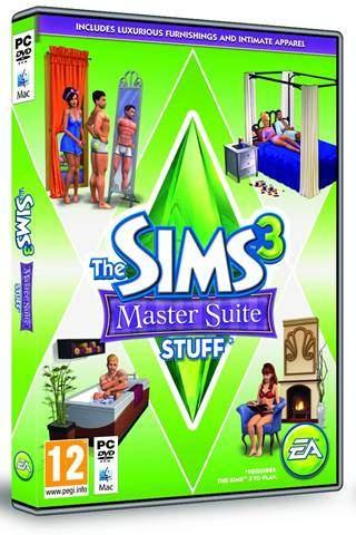 Los Sims 3 Master Suite de Ensueño Accesorios Stuff PC Descargar Español ISO 2012