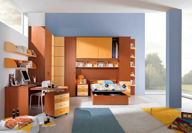 amenagement chambre enfants. Black Bedroom Furniture Sets. Home Design Ideas