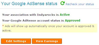 Approve Google Adsense