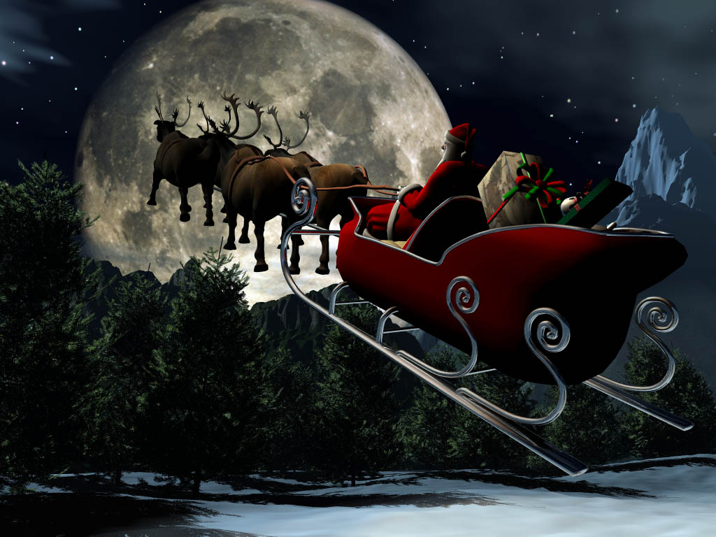 the nices wallpapers: 3d christmas wallpapers