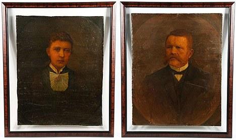 Lukisan potret ibu bapa Hitler akan dilelong