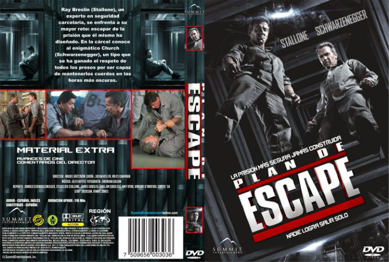 Plan De Escape [Escape Plan] DVDR [Latino] [Final] [2013] [Acción - Thriller]