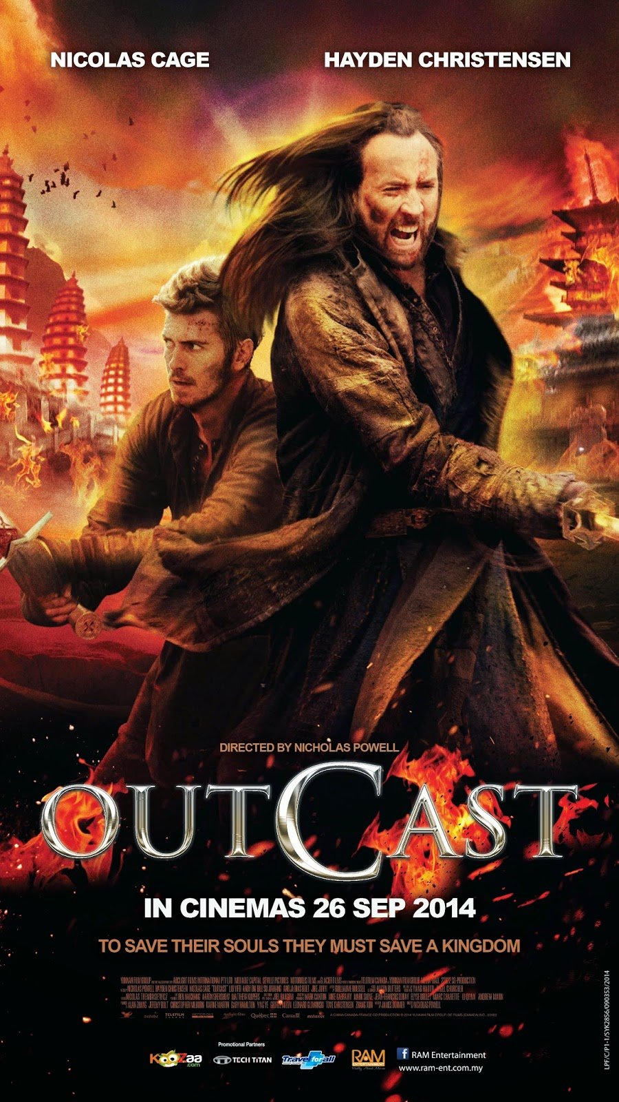 Outcast / В изгнание (2014)