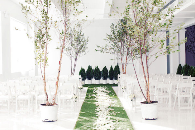Laostudio nyc indoor garden wedding for Indoor gardening nyc