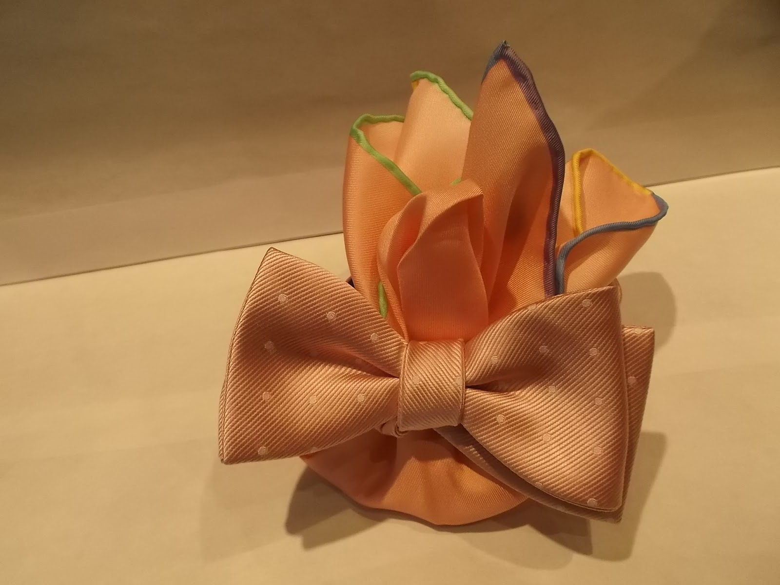 SEIGO NECKWEAR New York: New Arrival : Pastel Color Dots Bow Ties