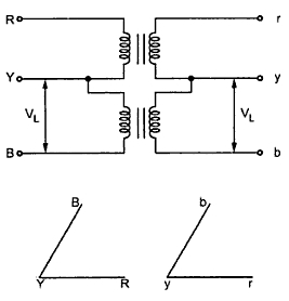 Open delta or v v connection of 3 phase transformer your your electrical home ccuart
