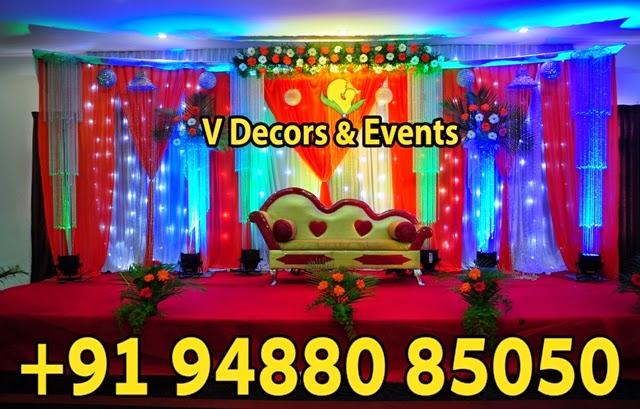 Wedding Decorations in Pondicherry Wedding DecorationStage