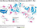 Marcas Mundiais Mais Valiosas em 2017