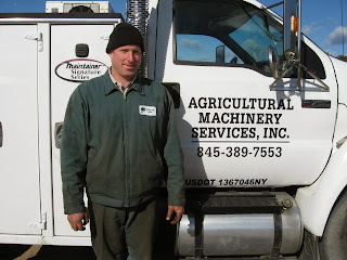 Dave with Agricultural Machinery Services 845-389-7553