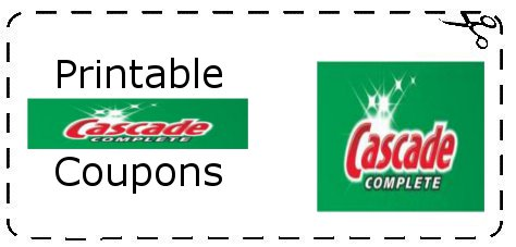 photo relating to Cascade Coupons Printable known as Printable Cascade Discount codes Printable Grocery Coupon codes