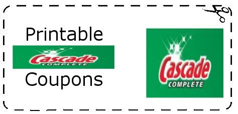 Printable Cascade Coupons Printable Grocery Coupons