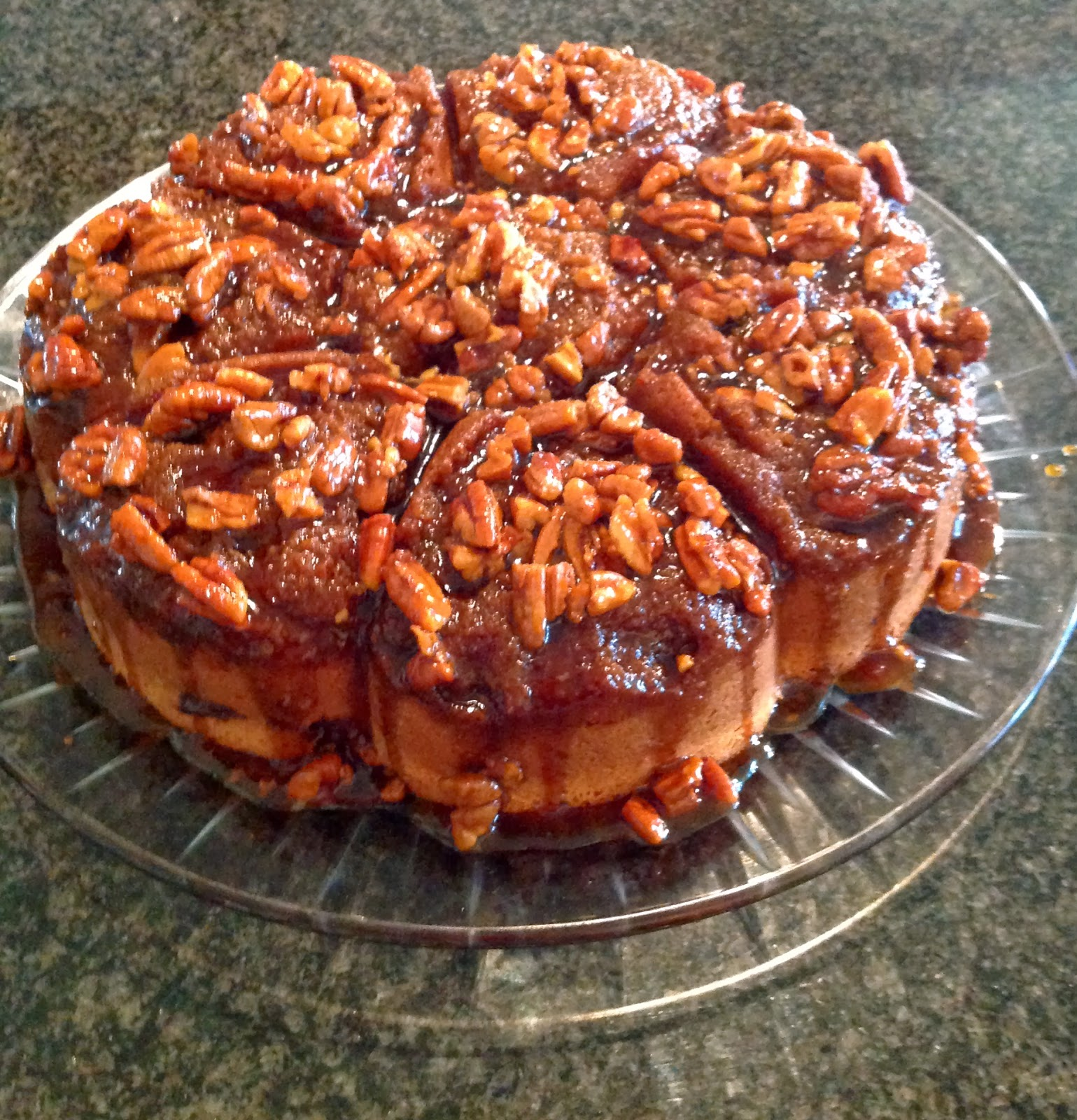 Cake Mix Sticky Buns