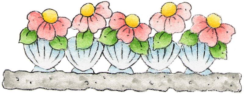 Flores Bordes Para Imprimir Bordes Con Objetos De Costura Bordes Para
