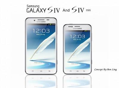 Samsung Galaxy S4 Mini Menampakkan Diri