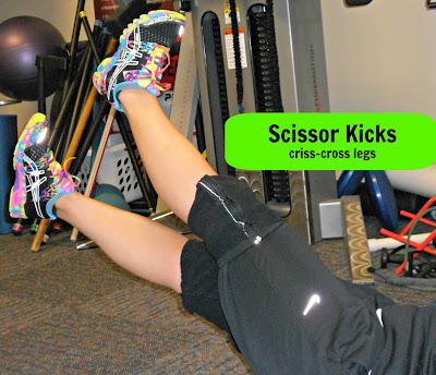 scissor kicks