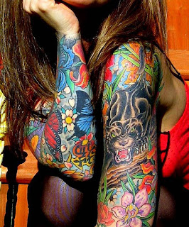 Janine Lindemulder Tattoos