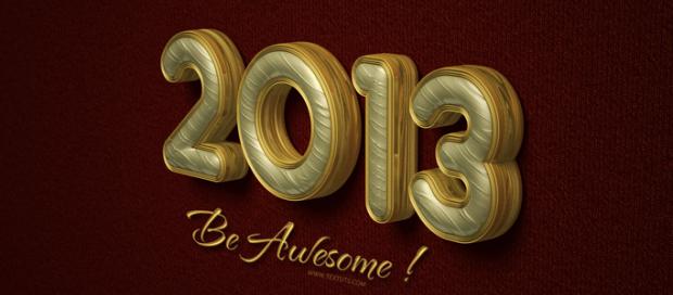 Photoshop Elegant Text Effect for 2013