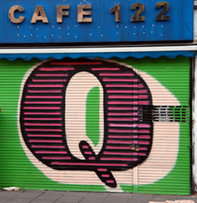 Letter Q on Graffiti alphabet art