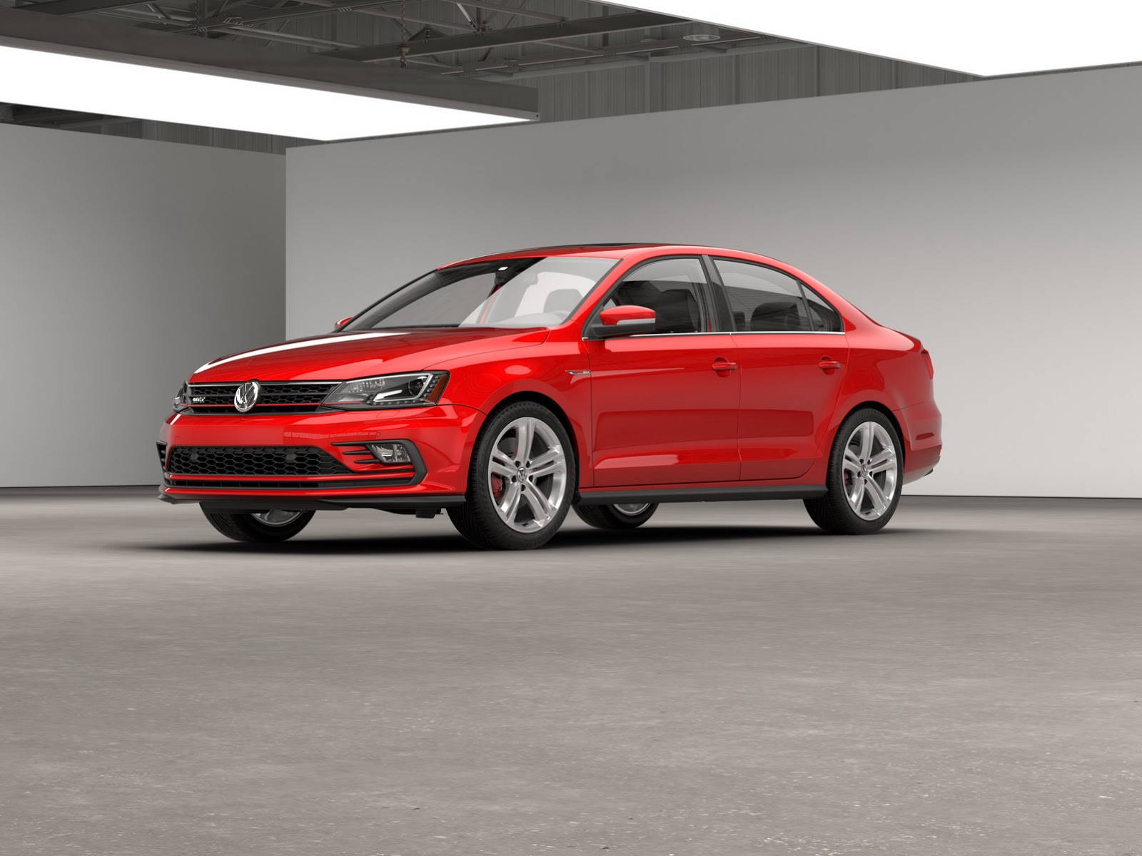 2016 vw jetta gli gets a subtle facelift retains golf gti 39 s 210hp turbo carscoops