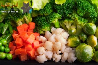 الخضروات الخضراء أكثر افادة لنمو الشعر وتجديده