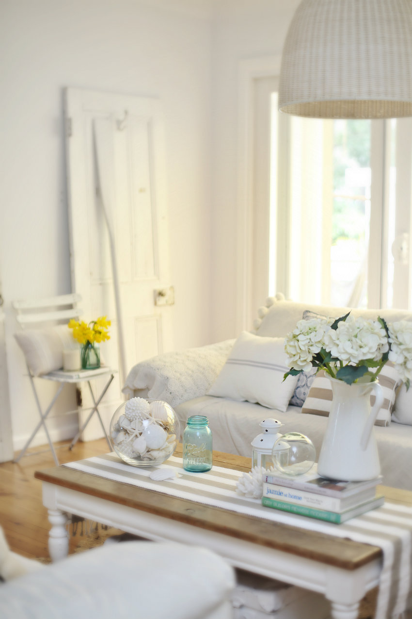Everything Coastal....: Walk the Line...Decorating with Summer ...