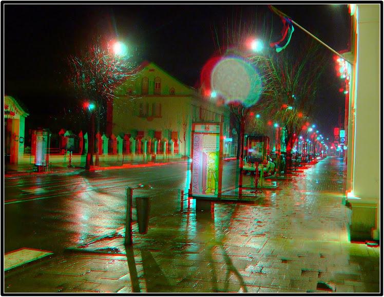 Šabac u kišnoj noći