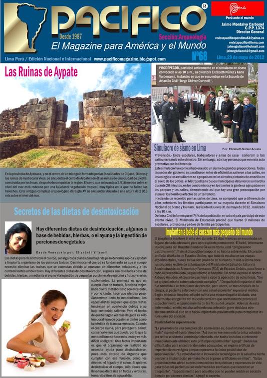 Revista Pacífico  Nº 68 Arqueología