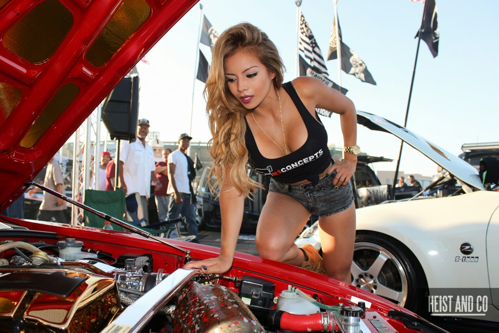 Car Show Coverage Extreme Autofest Anaheim Doing Donuts With Bernie - Angel stadium car show