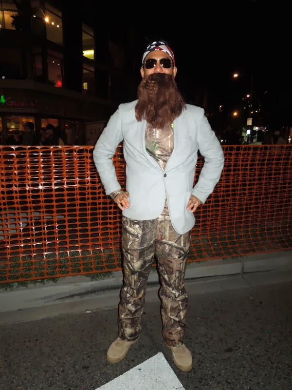 Duck Dynasty costume West Hollywood Carnaval 2013