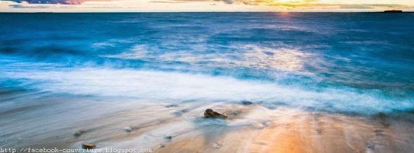 Une couverture facebook mers et plages