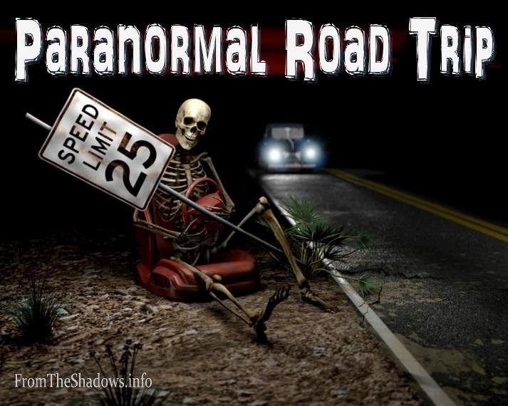 Paranormal Road Trip at From the Shadows spooky tours of the world with your favorite authors