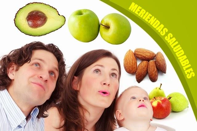 Meriendas saludables para adelgazar