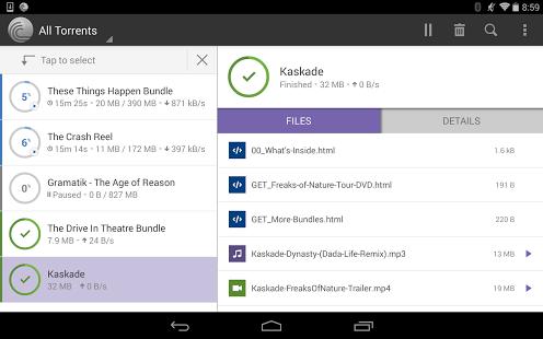 BitTorrent Pro Android App Apk