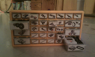 How do you store your LEGO MINDSTORMS parts?