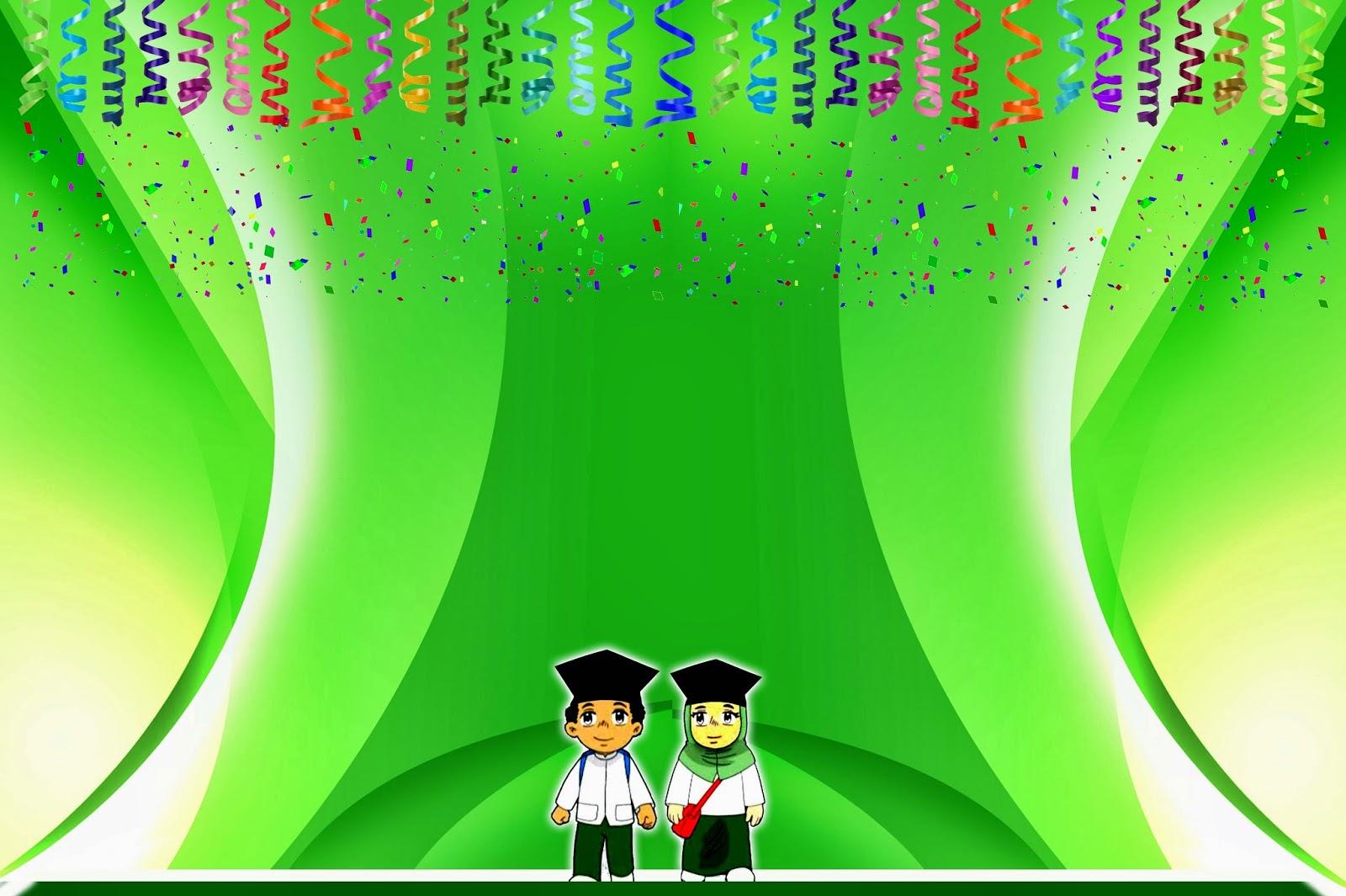 Design banner wisuda - Haflah Akhirussanah Dan Wisuda Tpq 1