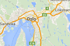 Oslo Norway Map
