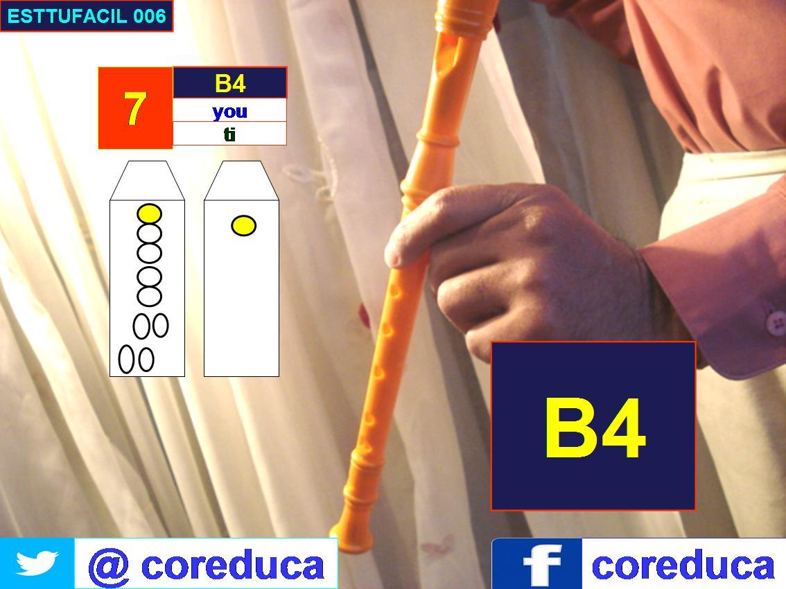 Flute position B4