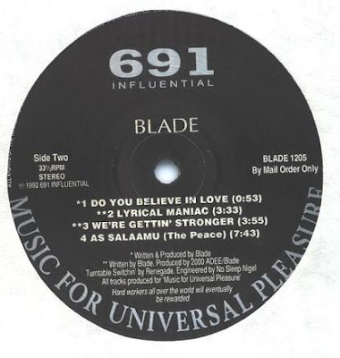 Blade – Survival Of The Hardest Workin' (1992) (192 kbps)