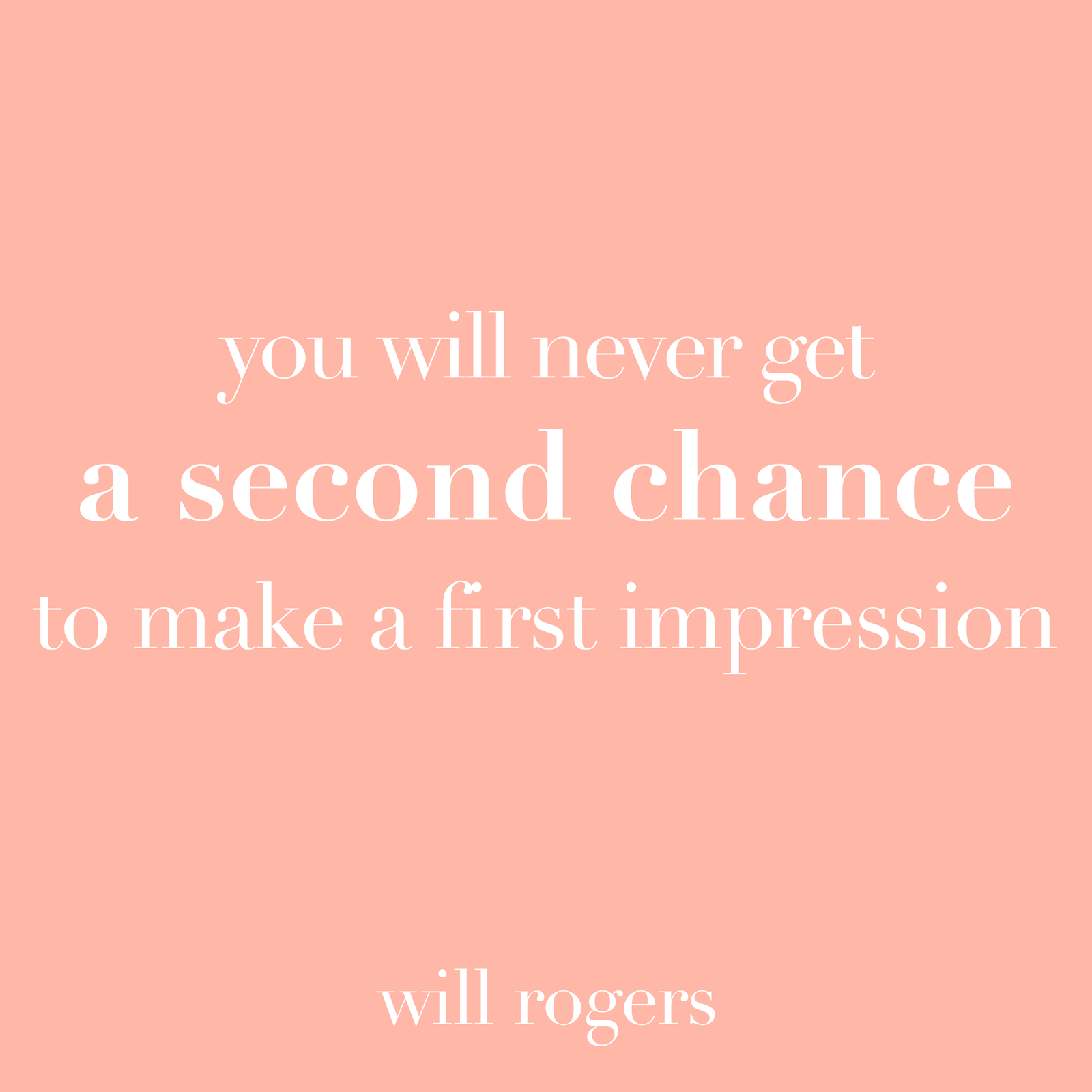 the importance of first impressions essay